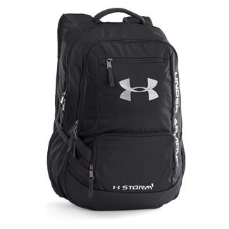 Under Armour Hustle II Backpack Black / Silver