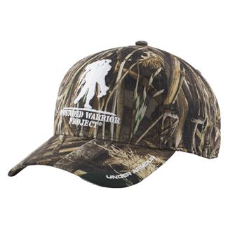 Under Armour WWP Camo Snapback Hat Realtree Max 5 / White