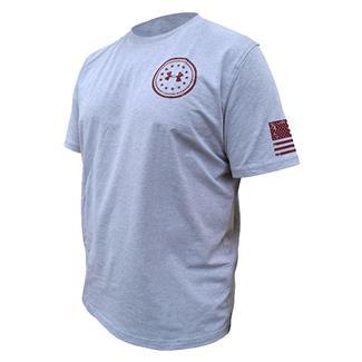 Under Armour HeatGear De Opresso Liber T-Shirt True Gray Heather / Deep Red