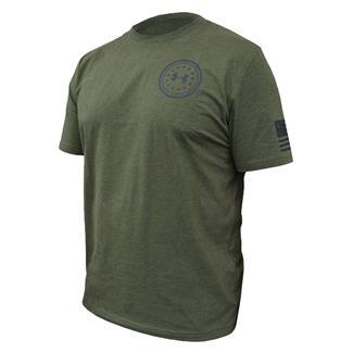 Under Armour HeatGear De Opresso Liber T-Shirt Greenhead / Black