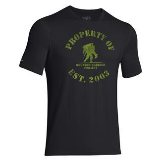 Under Armour HeatGear Property of WWP T-Shirt Black / Velocity