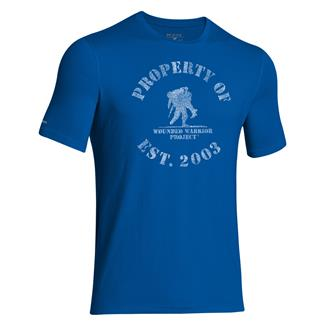 Under Armour HeatGear Property of WWP T-Shirt Superior Blue / White