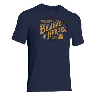Under Armour HeatGear WWP Believe T-Shirt Academy / Moccasin