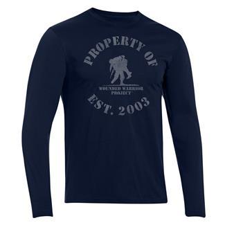 Under Armour HeatGear Long Sleeve Property of WWP T-Shirt Academy / Steel