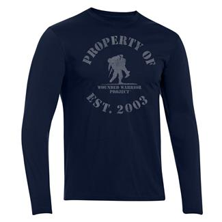 Under Armour HeatGear Long Sleeve Property of WWP T-Shirt Academy / Steel