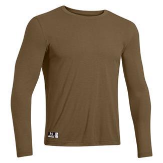 Under Armour Tactical HeatGear FR Long Sleeve T-Shirt Coyote Brown