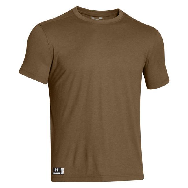 Under armour tactical heatgear fr t shirt for Under armour brown t shirt