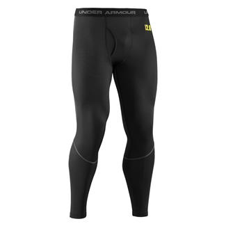 Under Armour ColdGear Base 2.0 Leggings Black / School Bus