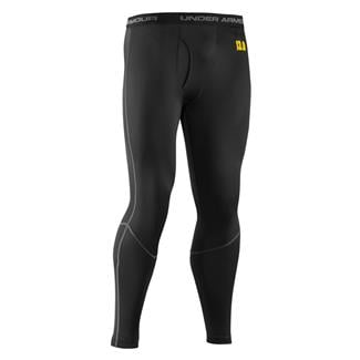 Under Armour ColdGear Base 3.0 Leggings Black / School Bus