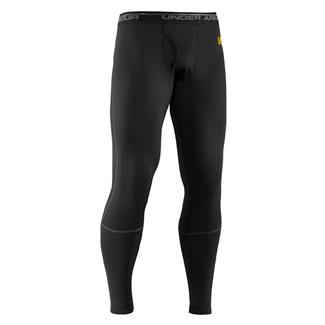 Under Armour ColdGear Base 4.0 Leggings Black / Battleship / School Bus