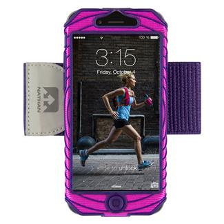 Nathan SonicBoom Armband Phone Cases Floro Fuchsia / Imperial Purple iPhone 6
