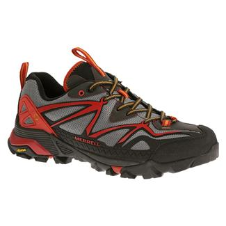Merrell Capra Sport Light Gray / Red