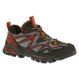 Merrell Capra Sport GTX Light Gray / Red