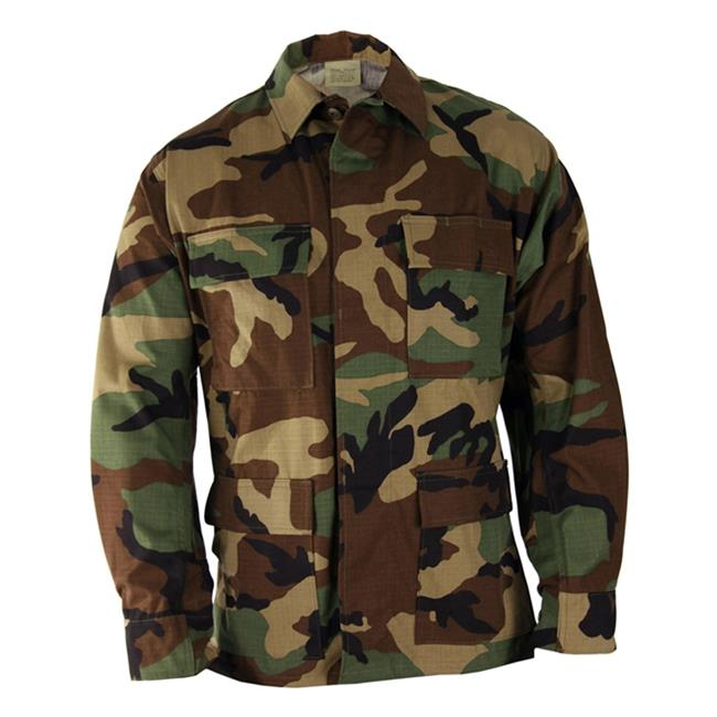 Propper Nylon / Cotton Ripstop BDU Coats Woodland