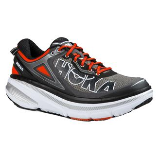 Hoka One One Bondi 4 Gray / Orange Flash