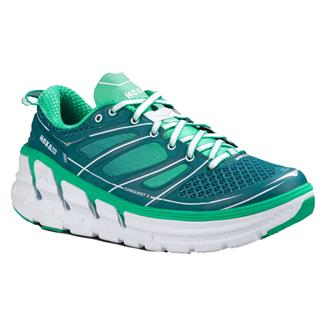 Hoka One One Conquest 2 Colonial lGlue / Mint Leaf