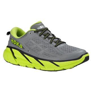 Hoka One One Clifton 2 Gray / Acid