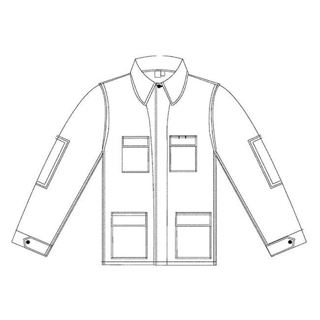 Propper Poly / Cotton Ripstop BDU Coats Dark Grey