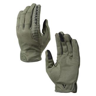 Oakley Factory Lite Tactical Gloves Worn Olive