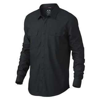 Oakley Long Sleeve Essential Shirt Jet Black