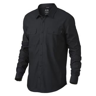 Oakley Long Sleeve Essential Shirt Jet Black