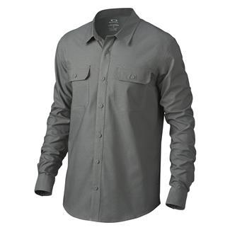 Oakley Long Sleeve Essential Shirt Grigio Scuro