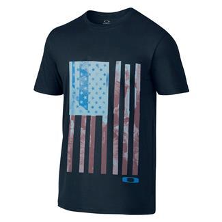 Oakley Old Glory T-Shirt Navy Blue