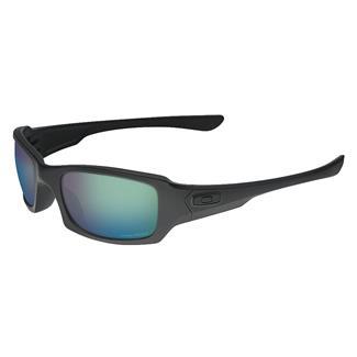 Oakley SI Fives Squared PRIZM Matte Black (frame) - PRIZM Maritime (lens)