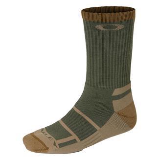 Oakley Tactical Boot Socks Worn Olive