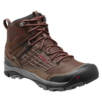 Keen Saltzman Mid WP Cascade Brown / Chili Pepper