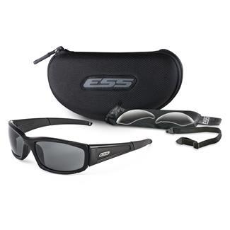 ESS Eye Pro CDI Black 2 Lenses Clear / Smoke Gray
