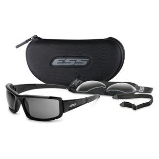 ESS Eye Pro CDI Max 2 Lenses Clear / Smoke Gray Black
