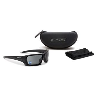 ESS Eye Pro Rollbar Polarized Mirrored Gray Black / Silver Logo 1 Lens