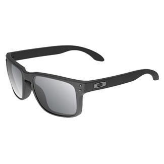 Oakley SI Holbrook Cerakote Graphite Black (frame) - Gray Polarized (lens)