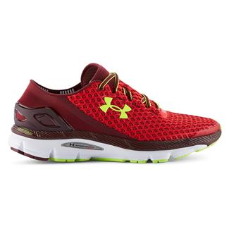 Under Armour SpeedForm Gemini Red / White / High-Vis Yellow