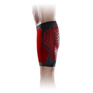 NIKE Pro Combat Hyperstrong Calf Sleeve Black / University Red