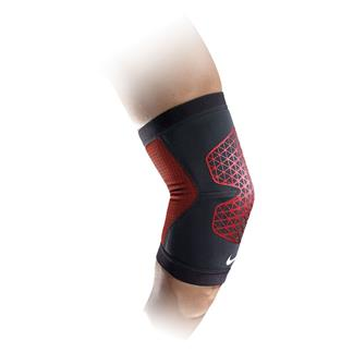 NIKE Pro Combat Hyperstrong Elbow Sleeve Black / University Red