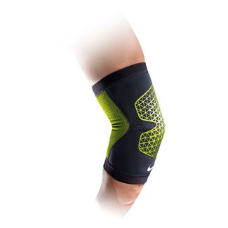 NIKE Pro Combat Hyperstrong Elbow Sleeve Black / Volt