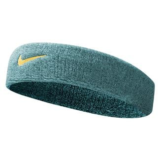 NIKE Swoosh Headband Radiant Emerald / Laser Orange