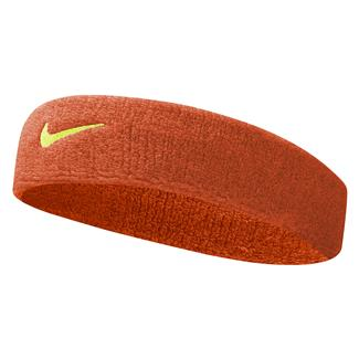 NIKE Swoosh Headband Team Orange / Volt