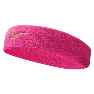NIKE Swoosh Headband Fireberry / Atomic Green