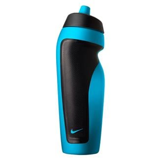 NIKE Sport Water Bottle Blue Lagoon / Black
