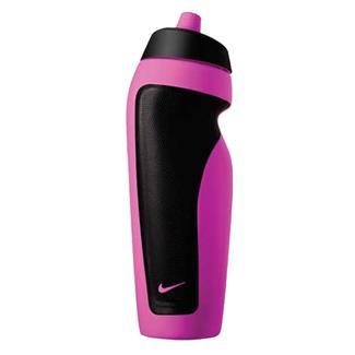 NIKE Sport Water Bottle Vivid Pink / White