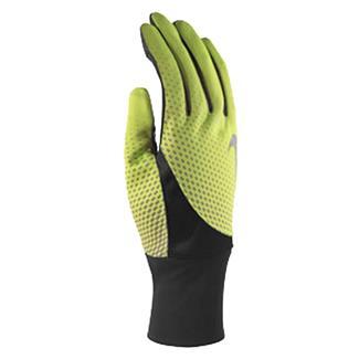 NIKE Dri-FIT Tailwind Run Gloves Volt / Black