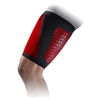 NIKE Pro Combat Hyperstrong Thigh Sleeve Black / Univeristy Red