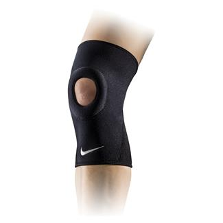 NIKE Pro Combat Open-Patella Knee Sleeve 2.0 Black / White