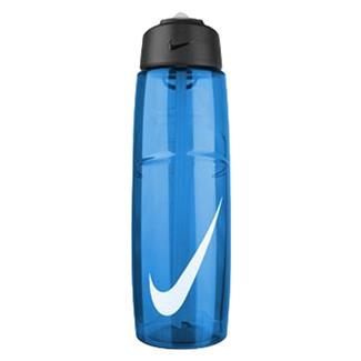 NIKE T1 Flow Swoosh 32 oz. Water Bottle Game Royal / White