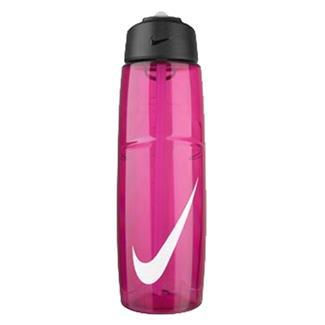 NIKE T1 Flow Swoosh 32 oz. Water Bottle Vivid Pink / White