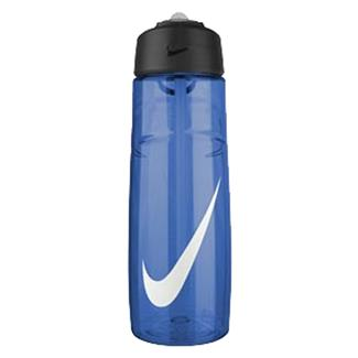 NIKE T1 Flow Swoosh 24 oz. Water Bottle Game Royal / White