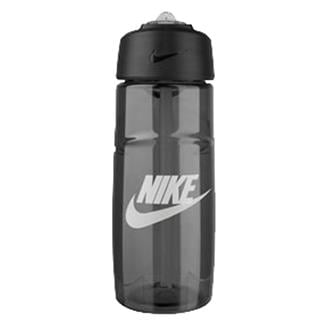 NIKE T1 Flow Graphic Water Bottle Anthracite / White